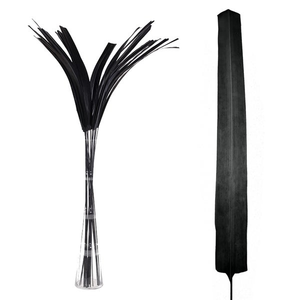 Essential Decor & Beyond Black Tips Branch EN70119 - 60 x 2 x 2