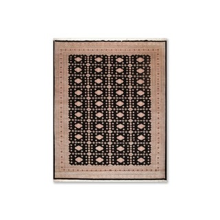"""Bokhara 200 KPSI Hand Knotted Baby Lamb Wool Persian Oriental Area Rug (9'4""""x11'7"""") - 9'4"""" x 11'7"""""""