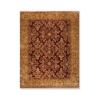 """Hand Knotted 200 KPSI Wool  Persian Oriental Area Rug (8'10x11'8"""") - 8' x 12'"""