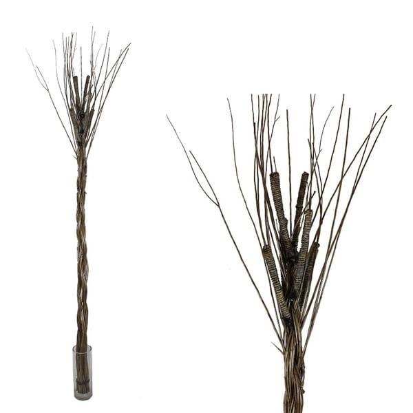 Essential Decor & Beyond Stick Bunch Desktop Grass EN70038 - Brown - 70 x 5 x 5