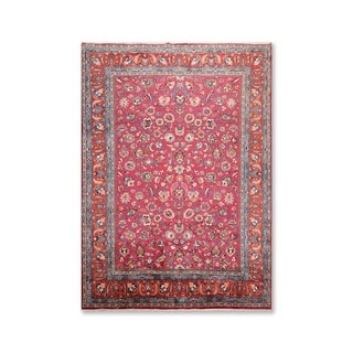"""Authentic Khorassan 200 KPSI Hand Knotted Wool  Persian Oriental Area Rug (8'3""""x11'4"""") - 8'3"""" x 11'4"""""""