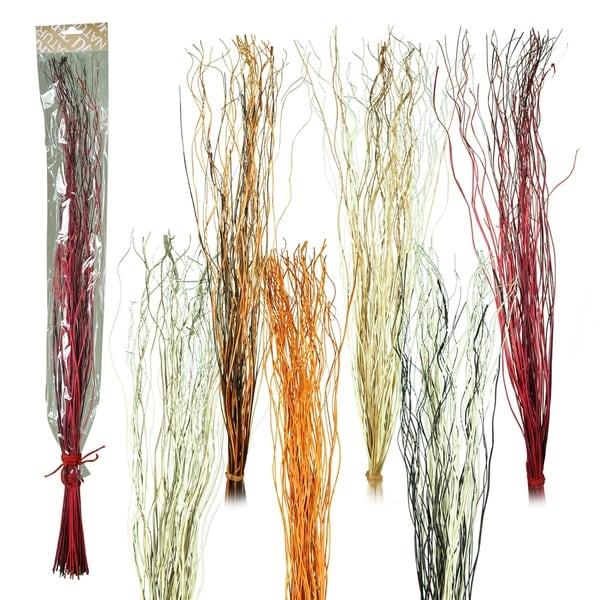 Essential Decor & Beyond 6pc. Artificial Willow Decoration EN70363 - Red/White - 35.5 x 1.5 x 5