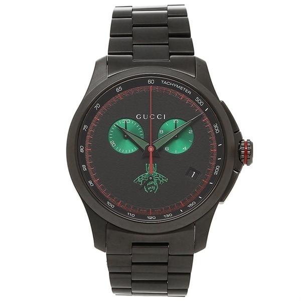 bc4b8a0d7f4 Shop Gucci YA126270 Men s G-TIMELESS Black Quartz Watch - Free ...