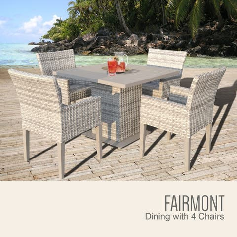 Fairmont Square Dining Table with 4 Chairs