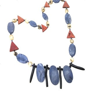 Handmade Southwest Blue Lapis Necklace