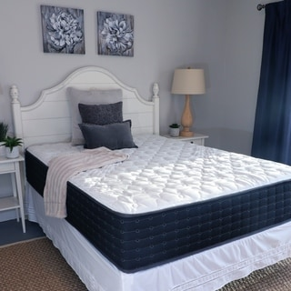 Shop Amboise 12 Inch King Size Adjustable Comfort Latex Mattress Free Shipping Today