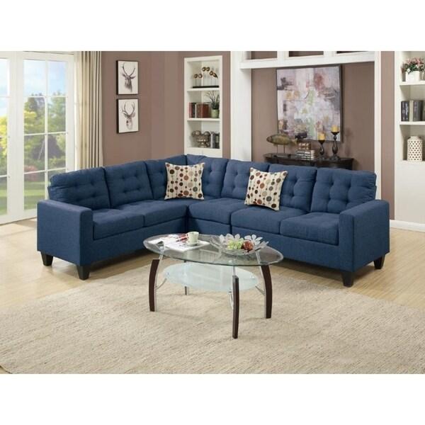 Manor Polyfiber Modular Sectional Sofa Set