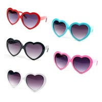 5957dd57d74f4 Shop Oversized Womens Heart Shaped Sunglasses Cute Love Fashion ...