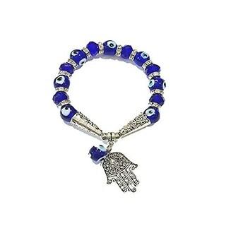 Batari The Evil Eye Glass Charm Bracelet