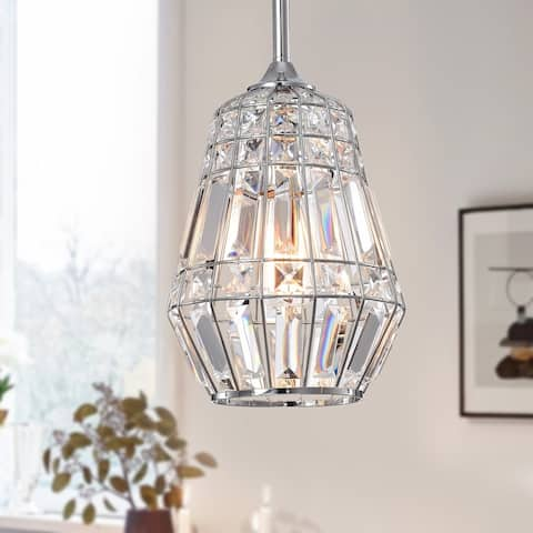Trazi 1-light Crystal Ceiling Pendant Lamp
