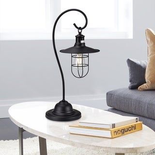 Link to Baskle Black Lantern Table Light Similar Items in Table Lamps