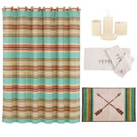 HiEnd Accents Serape 21 Piece Bath Collection