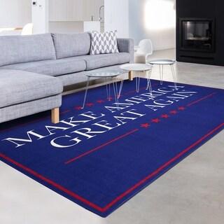 Make America Great Again Non-slip Indoor Outdoor Area Rug Carpet - 8' x 10'