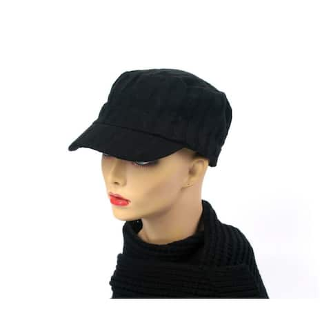 Women's Knit Cadet Style Fashion Hat P207
