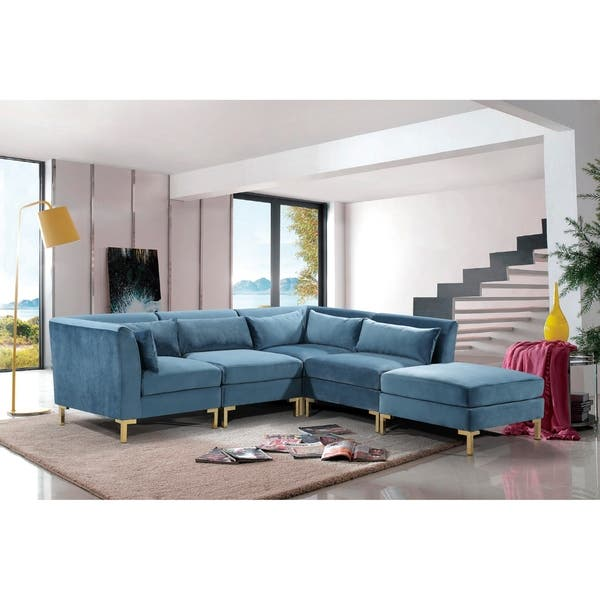 Awesome Shop Chic Home Guison Modular Chaise Sectional Sofa With 6 Inzonedesignstudio Interior Chair Design Inzonedesignstudiocom