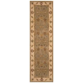 Handmade Mimana Wool Kilim (India) - 2'9 x 9'3