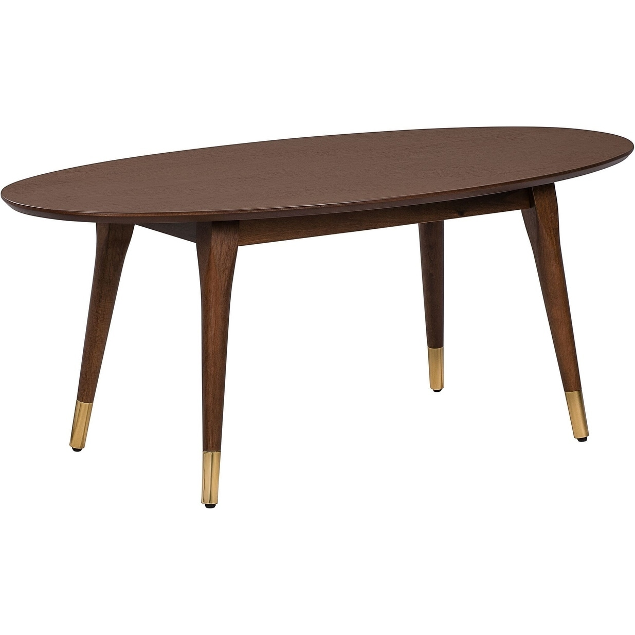 Fine Elle Decor Clemintine Mid Century Oval Table Home Interior And Landscaping Ologienasavecom