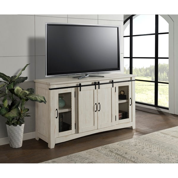 Shop Martin Svensson Home Aspen 65 Antique White Tv Stand 65