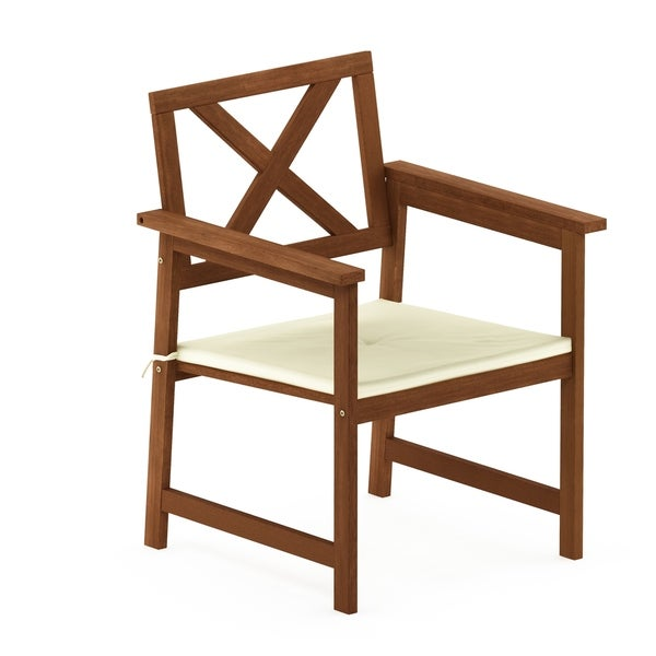 Cool Shop Havenside Home Ormond Hardwood X Back Arm Chair In Teak Best Image Libraries Weasiibadanjobscom