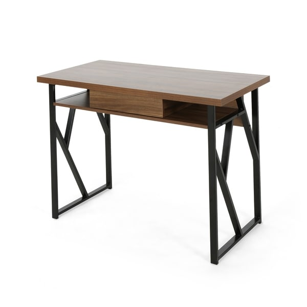 Fernwood Modern Faux Wood Writing Desk by Christopher Knight Home