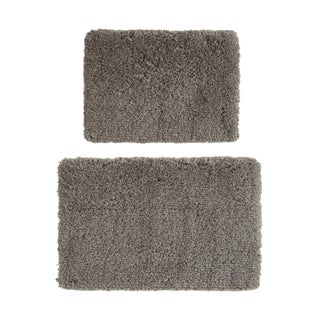 "510 Design Kate Tufted Solid Bath Rug 2-Piece Set - 17x24""/20x32"""