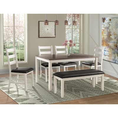 Buy White, Bench Seating Kitchen & Dining Room Sets Online ...