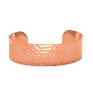Antimicrobial Solid Copper Bracelet Natural Relief of Joint Pain, 20mm