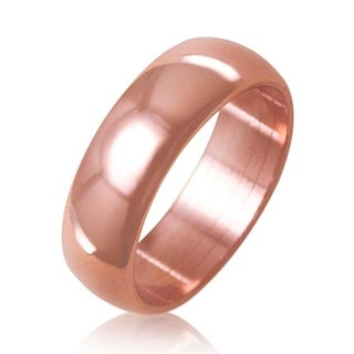 Samie Collection Pure Copper Ring, Natural Relief of Joint Pain, 6mm