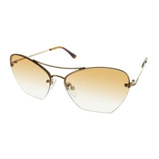 ee5a5ac7cba1 Tom Ford Cat-Eye TF 507 Annabel 28F Women Gold Frame Brown Gradient Lens  Sunglasses