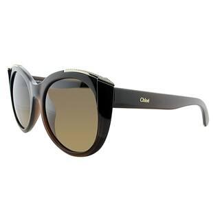 398c16d956d Chloe Cat-Eye CE 660SR 210 Women Brown Frame Brown Gradient Lens Sunglasses