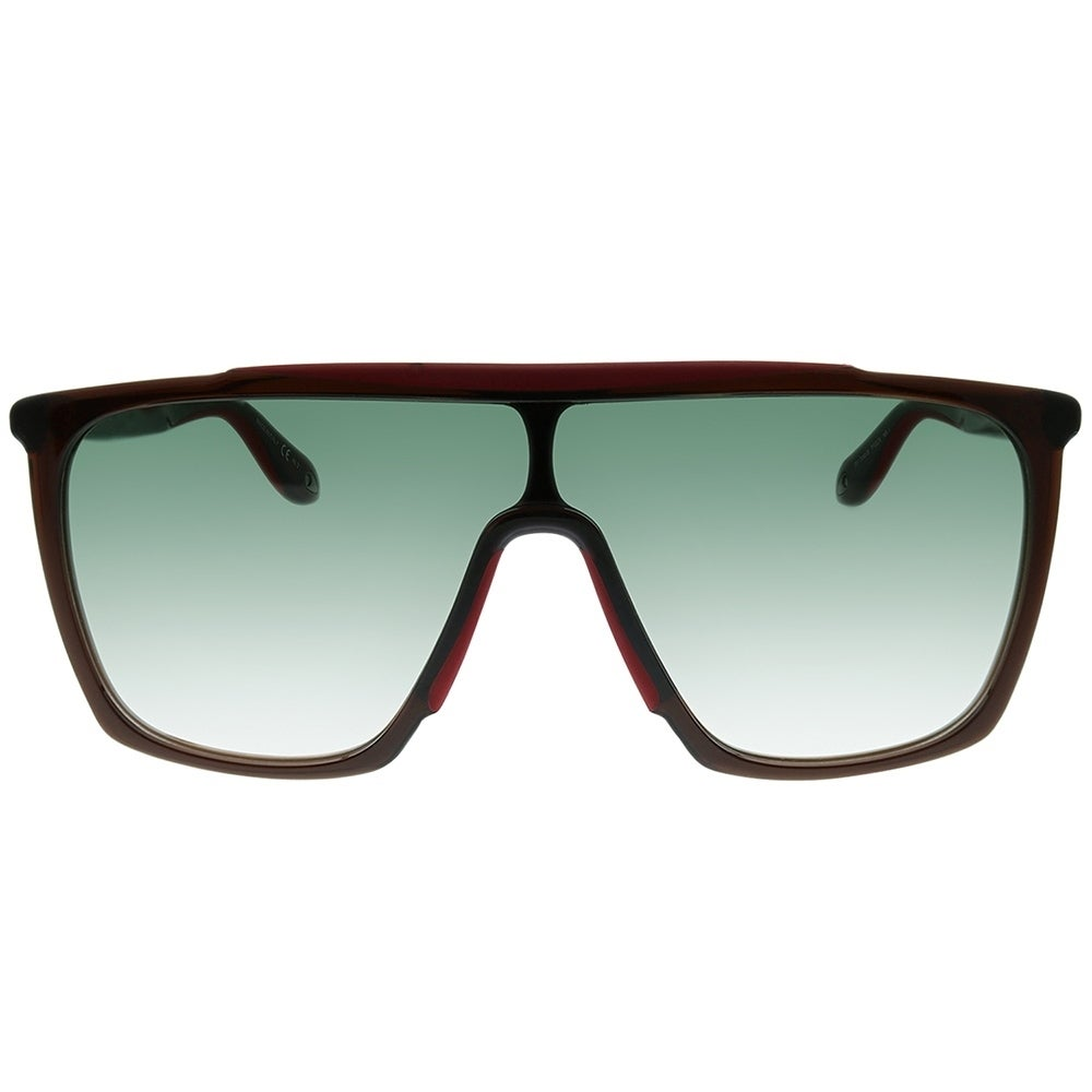 Givenchy Square GV 7040 TFG Unisex Brown Red Frame Green Gradient Lens  Sunglasses