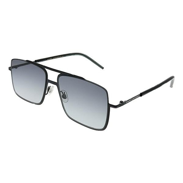 af5afee96f Marc Jacobs Square Marc 35 65Z VK Unisex Black Frame Grey Gradient Lens  Sunglasses