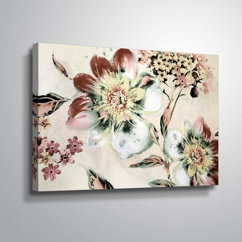 ArtWall 'Summer Flower' Gallery Wrapped Canvas