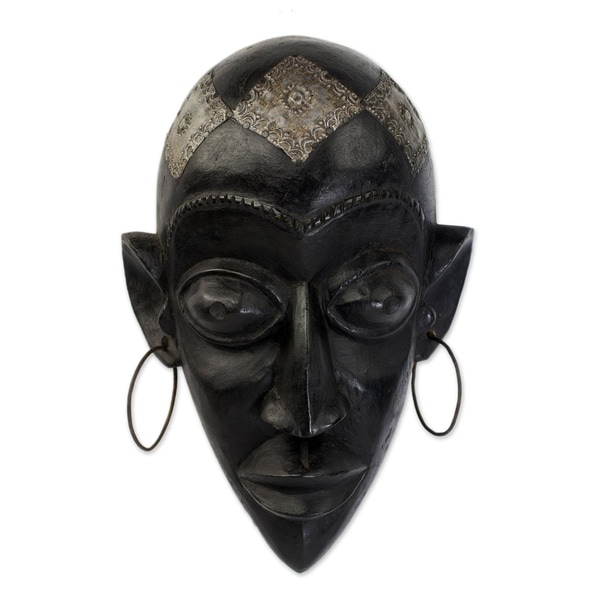 Handmade Hausa Beauty Hausa Wood Mask (Ghana)