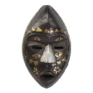 Handmade Don Wood Mask (Ghana)