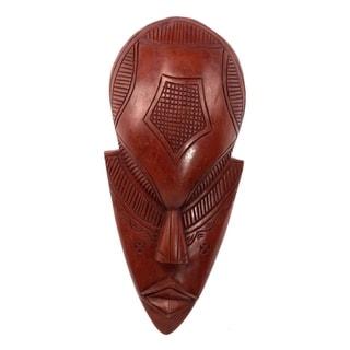 Handmade The Supplier Ghanaian Wood Mask (Ghana)