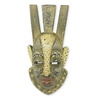Handmade Ever Forward African Mask (Ghana)