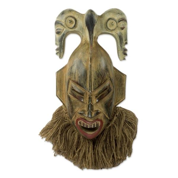 Senufo Presence African Wood Mask
