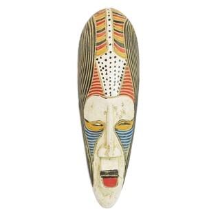 Handmade Ajala African Wood Mask (Ghana)