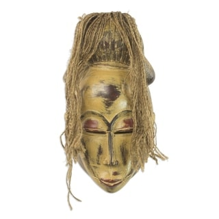 Ngondo Festival African Wood Mask