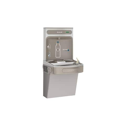 Elkay EZH2O Bottle Filling Station with Single ADA Cooler, Non-Filtered Non-Refrigerated EZSDWSLK Light Gray