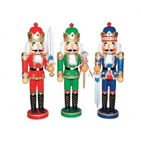 """Santas Workshop 15"""" Bejeweled Kings Nutcracker ..."""