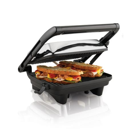 Hamilton Beach Panini Press Gourmet Sandwich Maker
