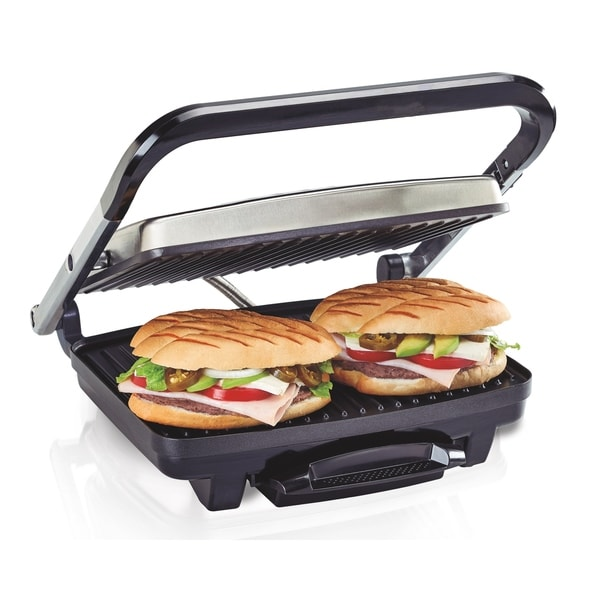 Hamilton Beach Panini Press & Indoor Grill. Opens flyout.