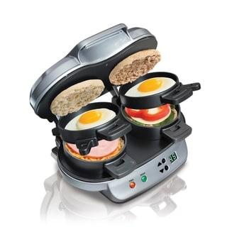 Link to Hamilton Beach Dual Breakfast Sandwich Maker Similar Items in Kitchen Appliances