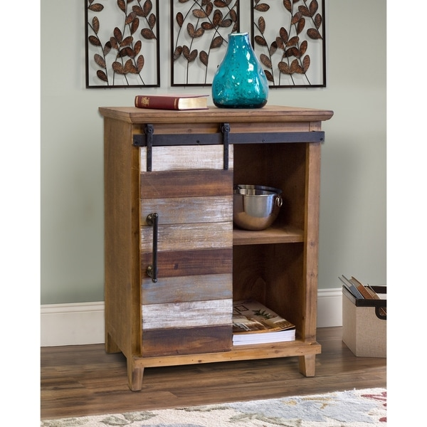 OS Home Rustic Farm House Multi Color Wood Pantry
