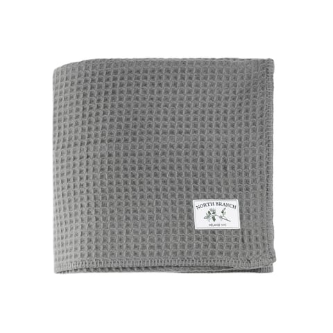 The Gray Barn Tule Wool Waffle Blanket