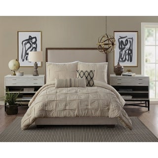 Link to Ayesha Curry Natural Instincts Double Cloth Comforter Set Similar Items in Comforter Sets