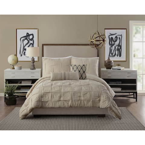 Ayesha Curry Natural Instincts Double Cloth Comforter Set