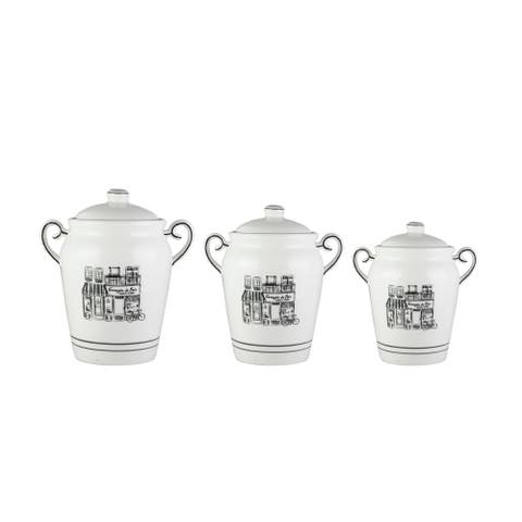 le bistro set/3 canisters